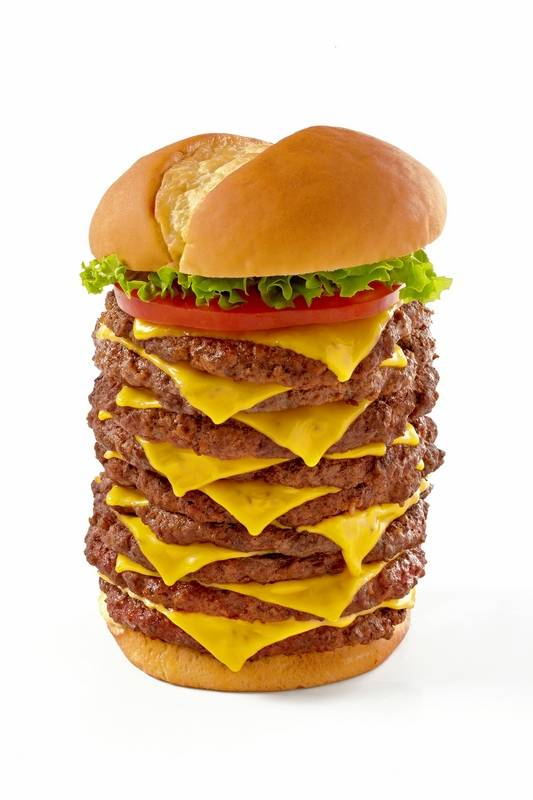 The Triple Burger Is On Menu At Wayback Burgers Which Opening Its