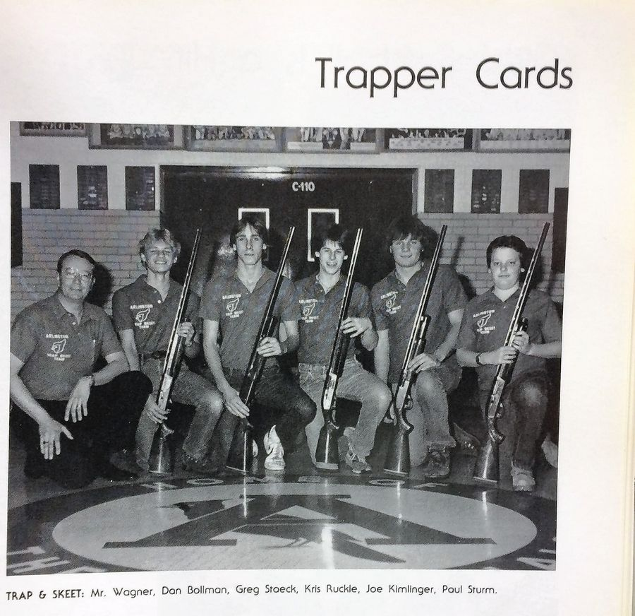 In the midst of a national debate on guns, retired teacher Wayne Wagner of Arlington Heights fondly remembers when kids not only brought guns to Arlington High School, they won state and national shooting championships. Wagner-coached teams won trapshooting titles in 1981, '82 and '83.