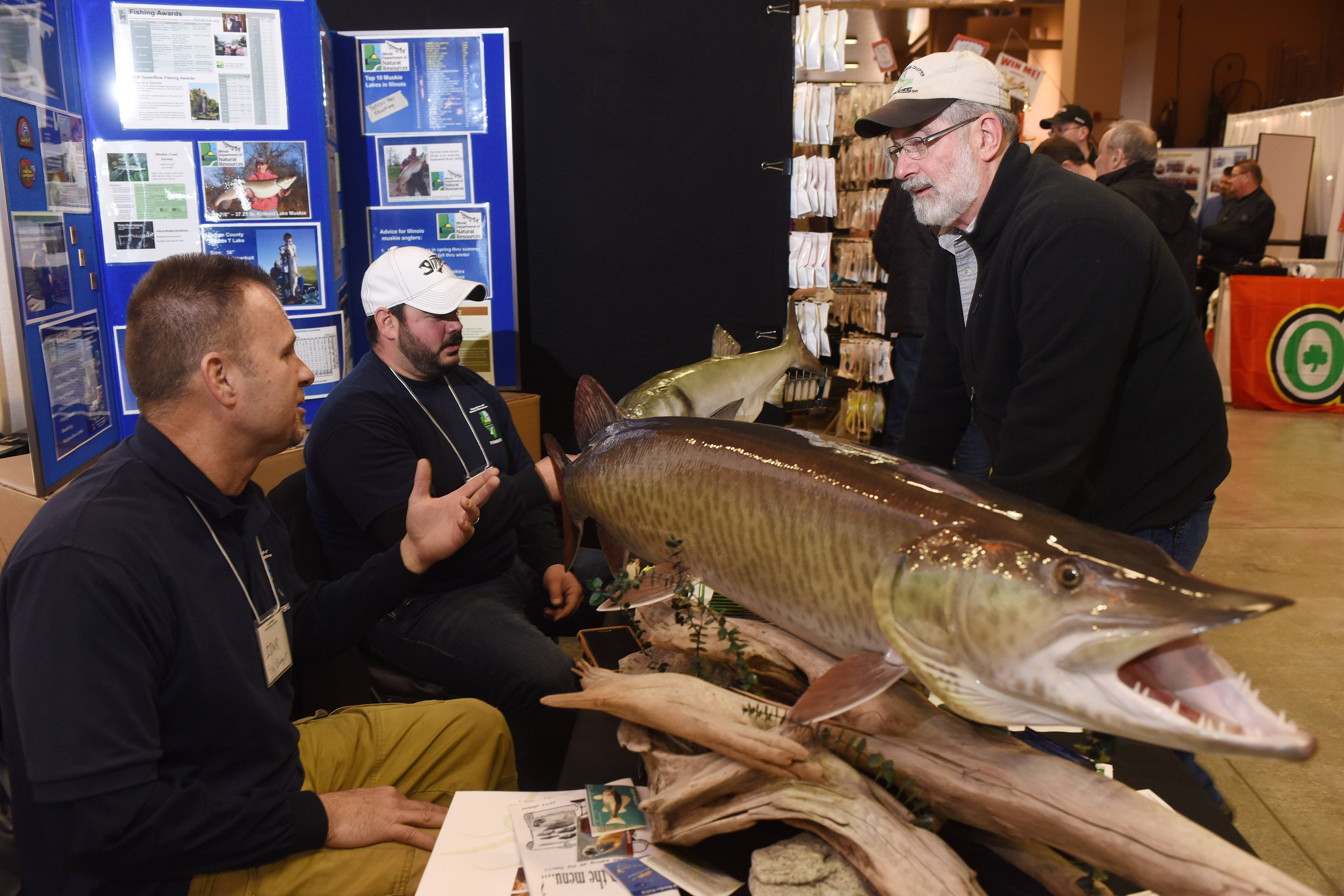 muskie expo continues sunday at sears centre