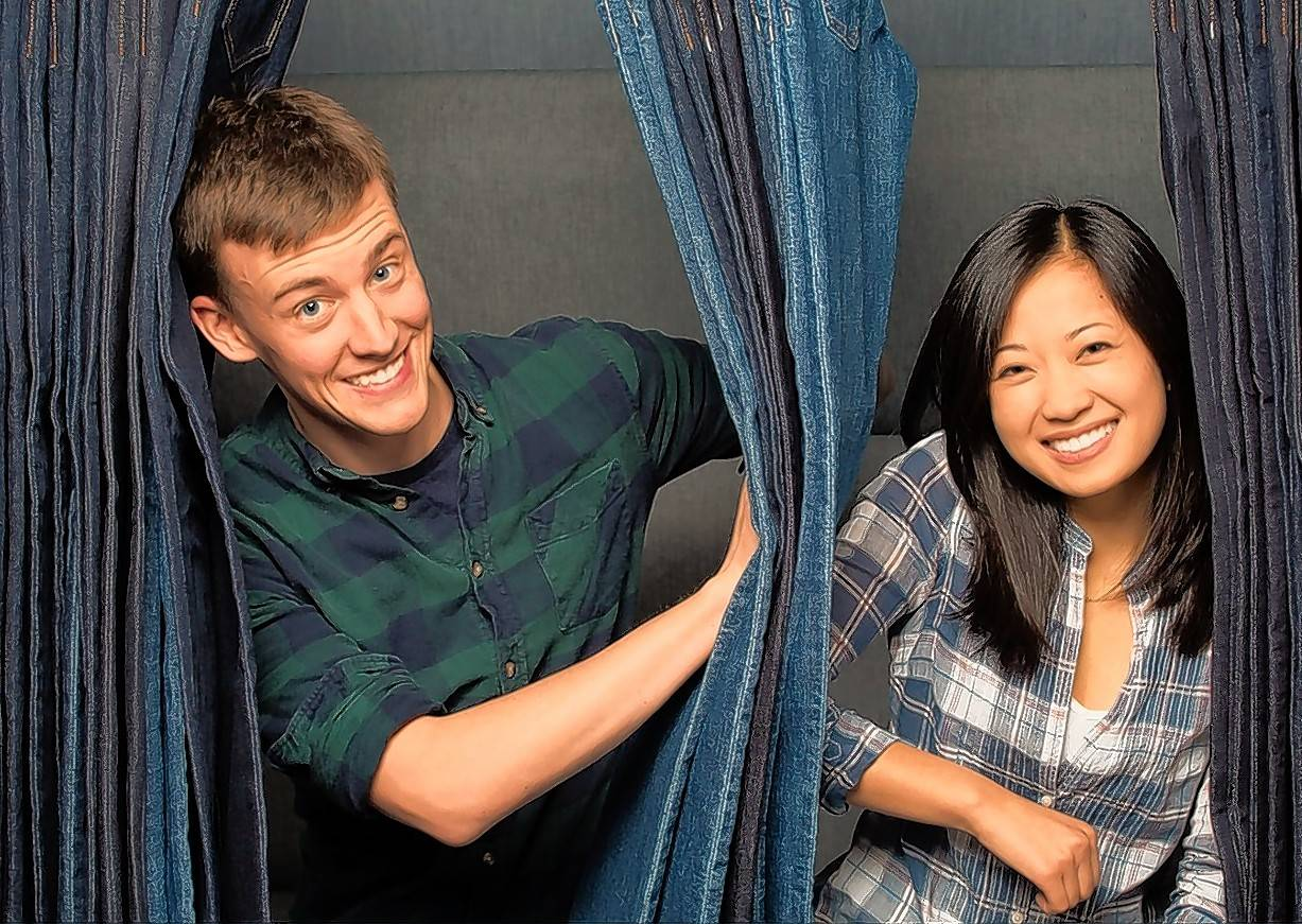 Sam Miller and Leona Liu own Bensenville-based Red Malt, which makes custom-fit jeans for adults.