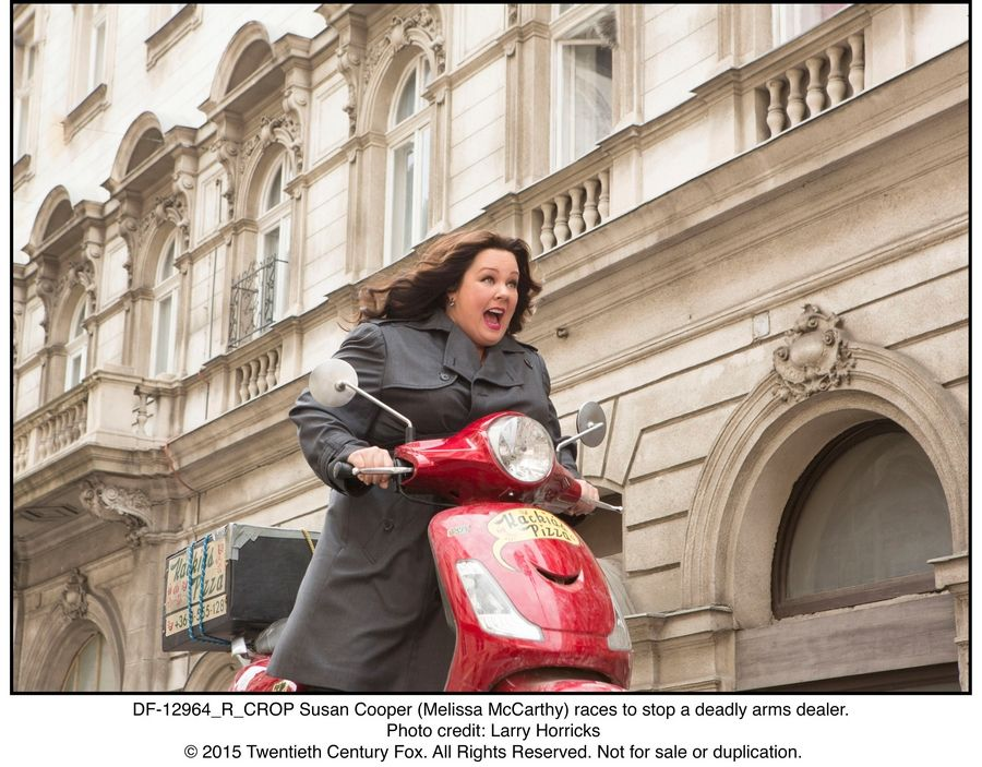"Plainfield native Melissa McCarthy is up for a Golden Globe for her starring role in the espionage parody ""Spy."""
