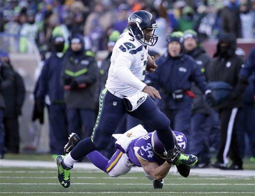 NFL Jerseys Nike - Seahawks escape with 10-9 win over Vikings after Walsh miss