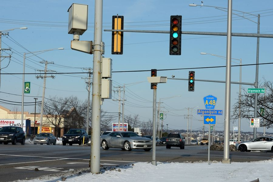 Algonquin is considering eliminating its red-light camera program. Village Manager Tim Schloneger says the cameras have improved overall traffic behavior, and there is no longer a need for them.