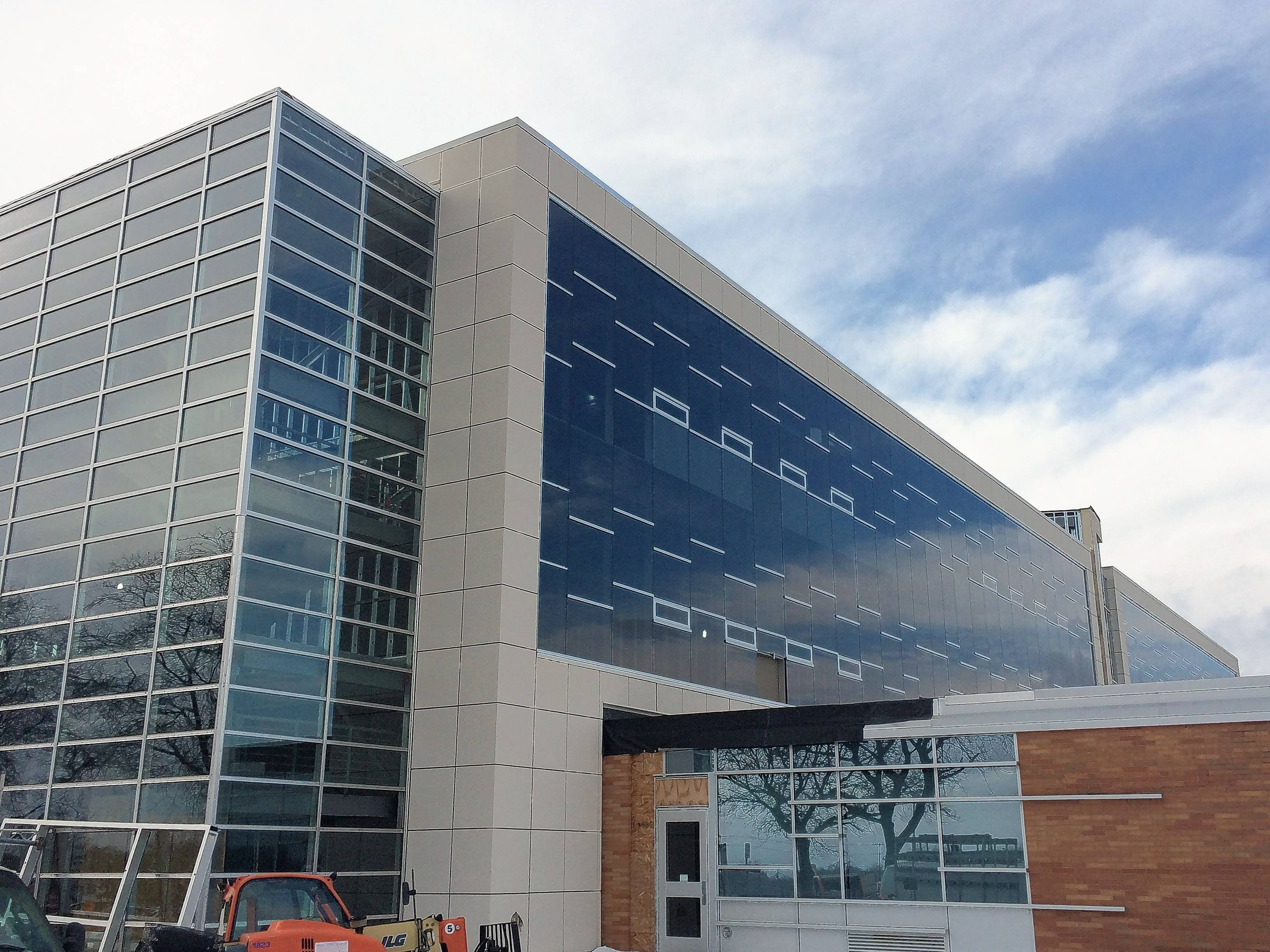 New STEM wing rising at Mundelein High School