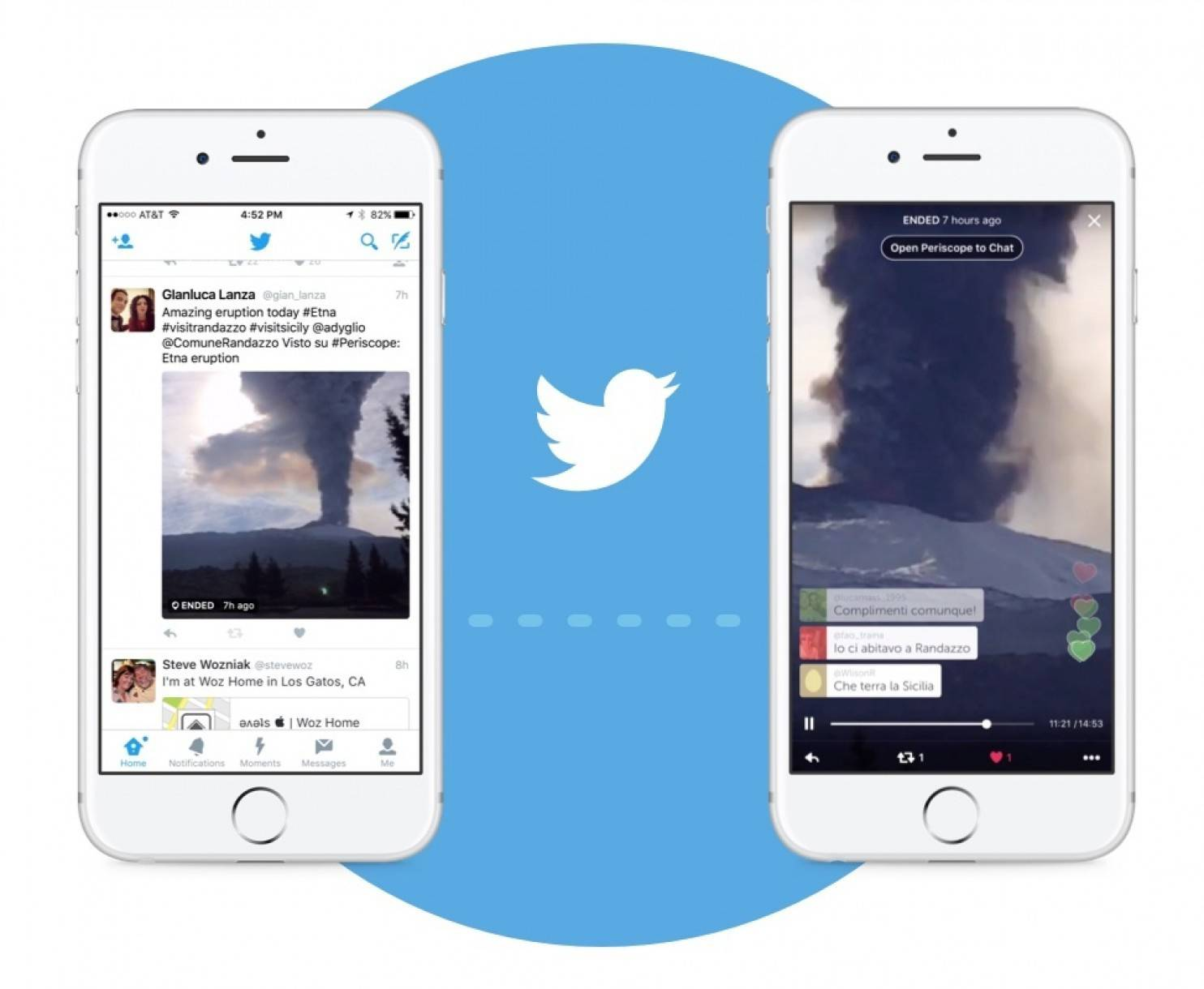 Twitter users are now be able to post and view Periscope video feeds directly from their main streams, making it easier for the average Twitter user to see the live video feeds from Periscope users. Previously, users could put links to Periscope streams in their tweets, but not embed the actual video.