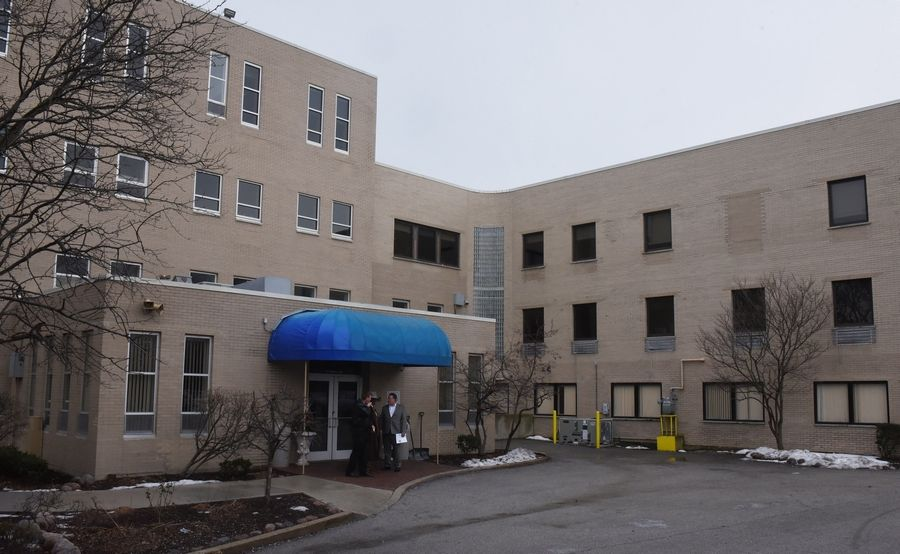 This is an exterior view of the Chicago Behavioral Hospital in Des Plaines. The hospital has added the Extra Mile Veteran Care Program in a building with a separate entrance on another part of the campus.