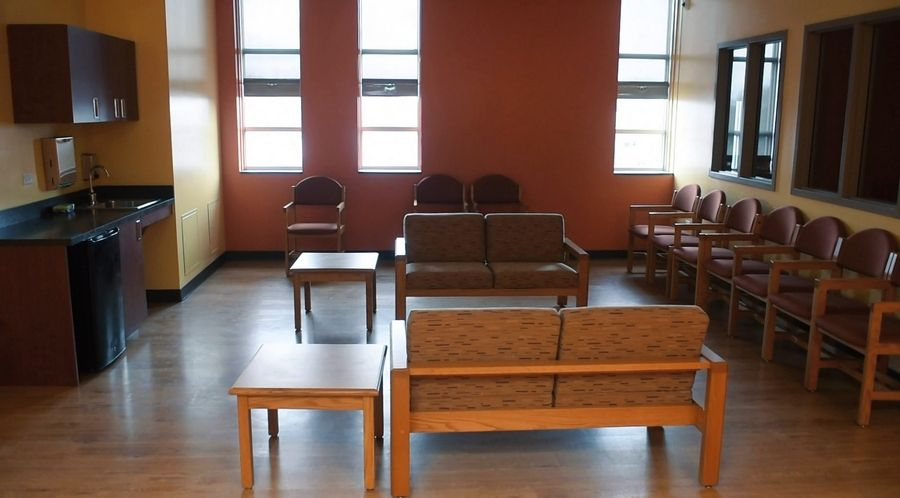 This is a dayroom at the remodeled Chicago Behavioral Hospital in Des Plaines, which is opening the Extra Mile Veteran Care Program to serve veterans, caregivers and military families with evidence-based mental health services that include outpatient treatment, inpatient treatment and substance abuse detox services.