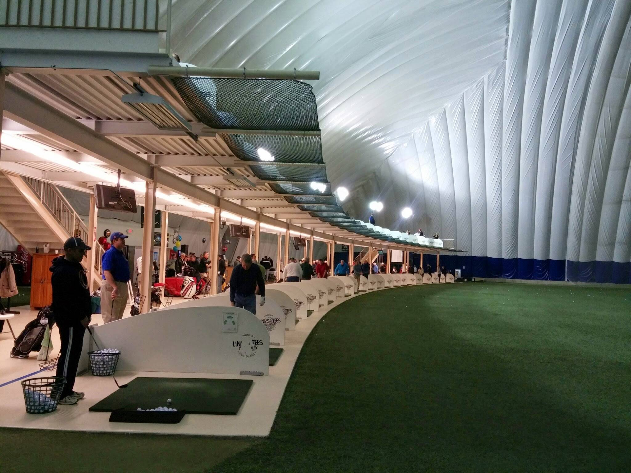 The public is invited to test-drive the latest name-brand golf equipment at Links & Tees Golf Dome located just 1.5 miles east of I-355 on Lake Street in Addison.Braulio Herrera