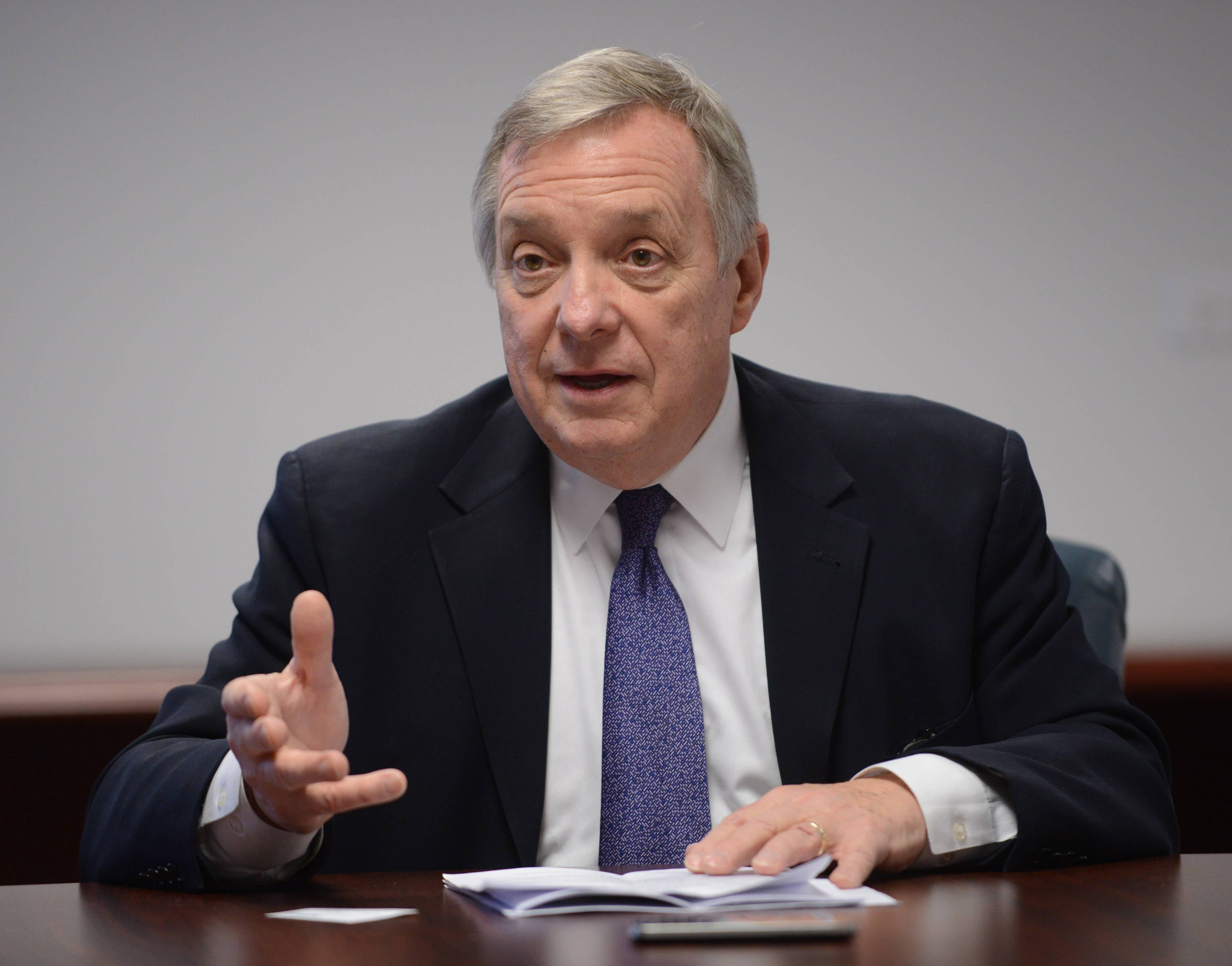 Durbin: Lower mandatory sentences for some drug offenders