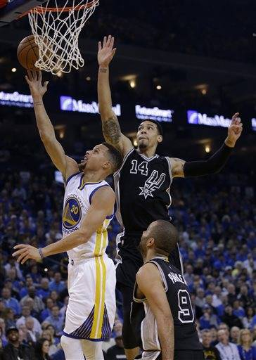 Curry Warriors Dismantle Spurs 120 90 Golden State Stephen 30