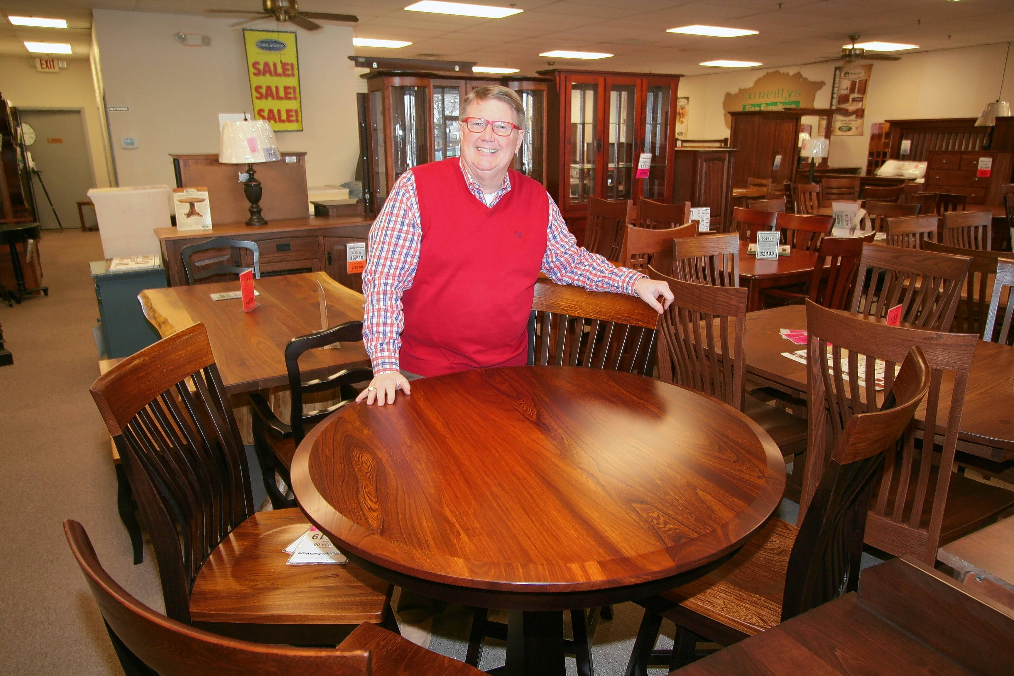 Gary Ou0027Reilly, Owner Of Ou0027Reillyu0027s Furniture In Libertyville, Made The