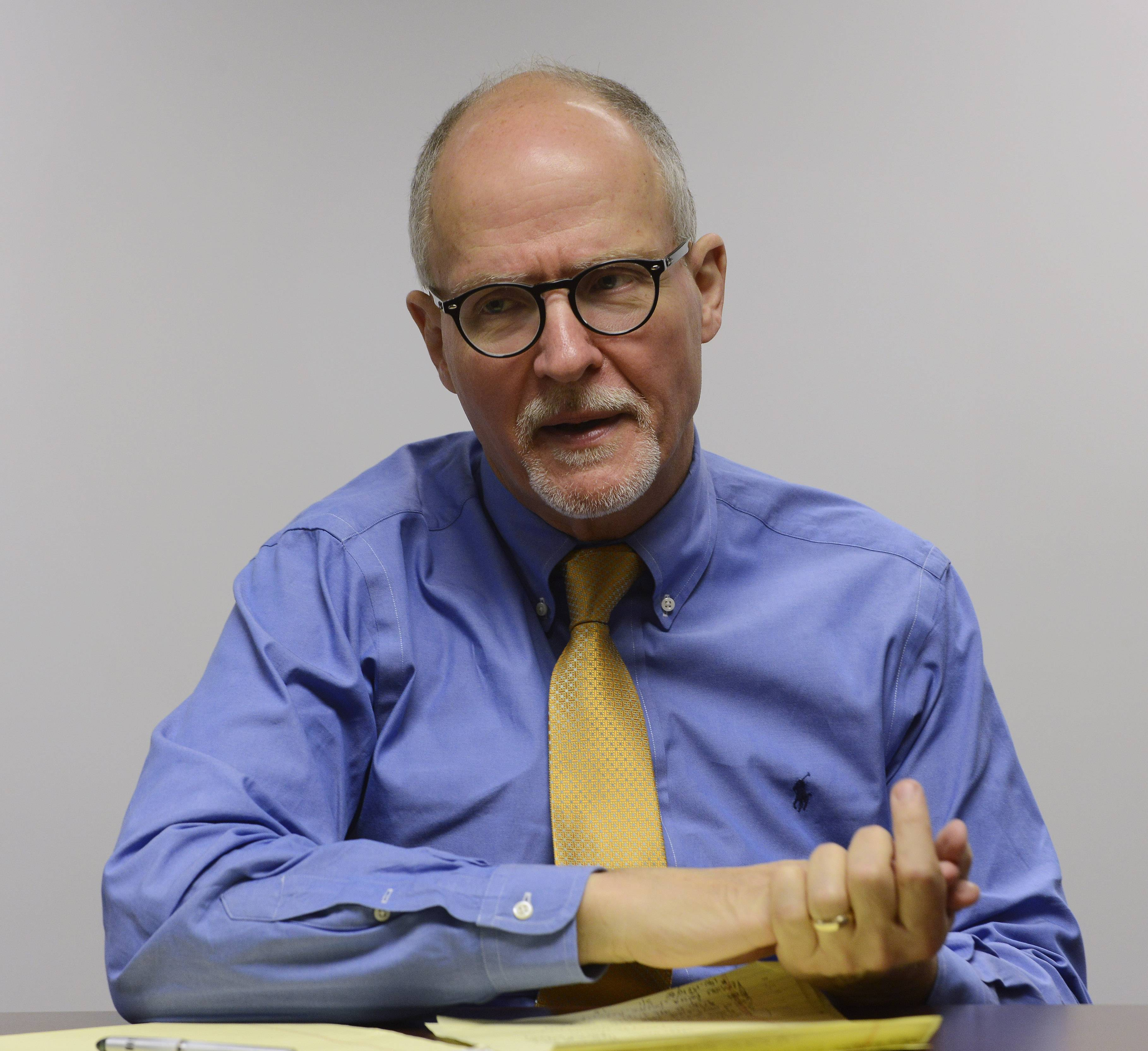 Former Chicago schools CEO Paul Vallas said a move to shift some special education funds away from schools that can raise more through property taxes was unwise because it pits the suburbs against other parts of the state.