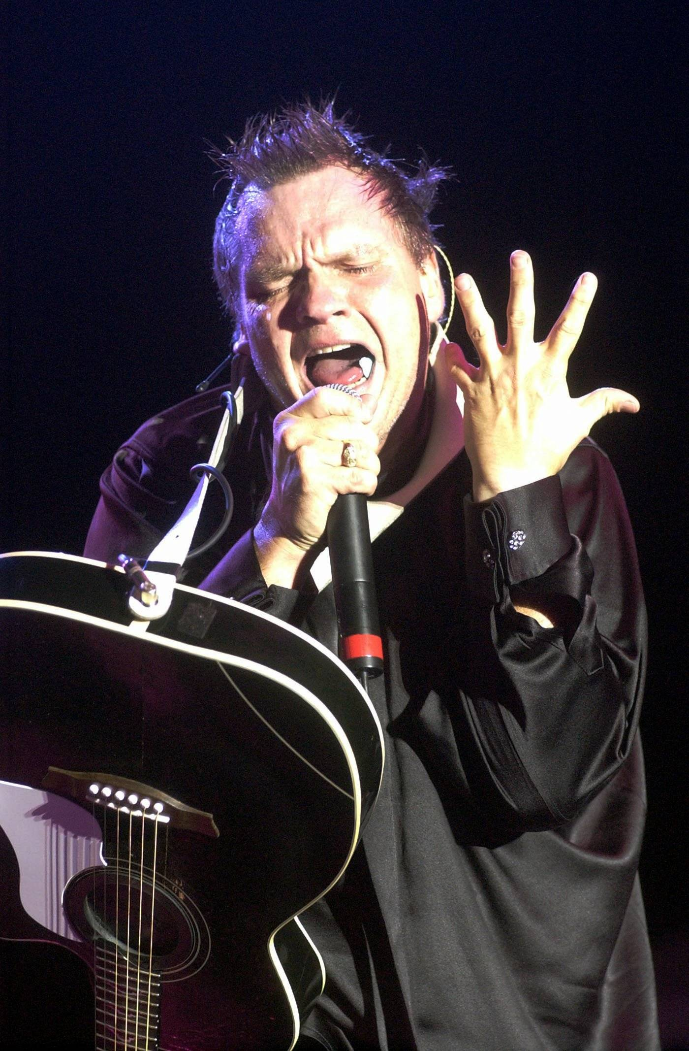 Meat Loaf performs at the Genesee Theatre in Waukegan on Wednesday, April 6.