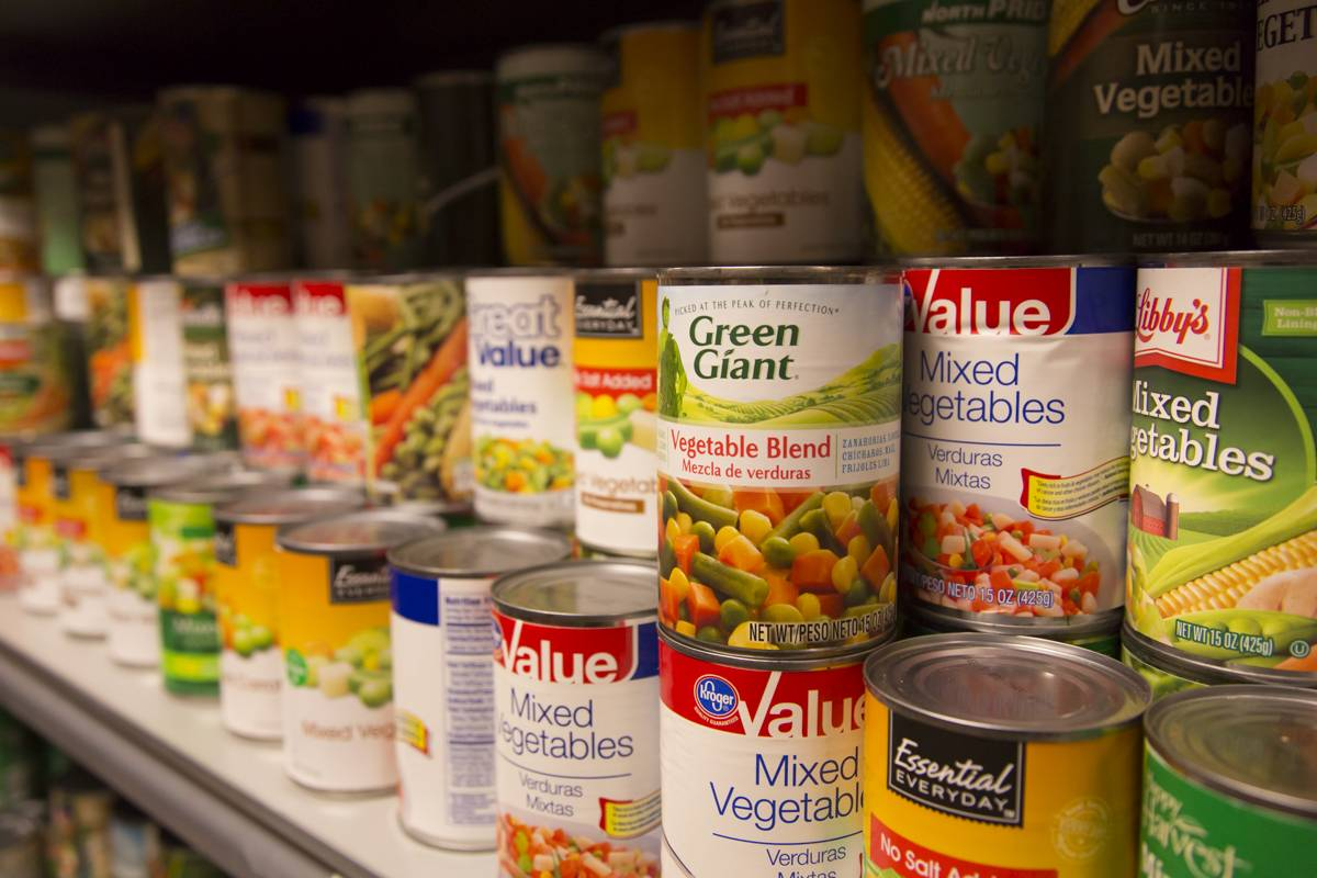 Convenient and portable, canned foods are an ideal source of donations to food drives that benefit Northern Illinois Food Bank and local food pantries.