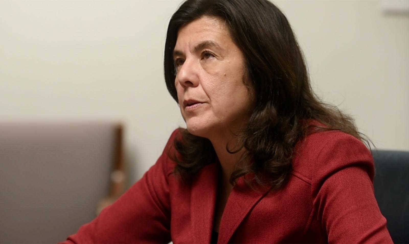 "Cook County State's Attorney Anita Alvarez met with the Daily Herald Editorial Board on Tuesday. ""The issue of police shootings is No. 1 on everyone's list of what can we do differently,"" she said."