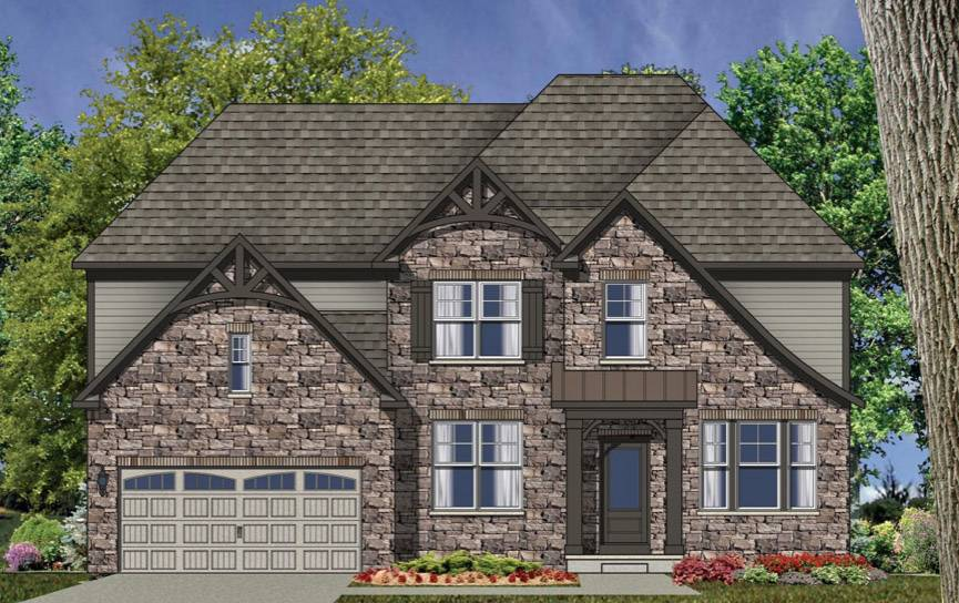 The Melrose model is one of styles proposed for Pulte Homes' Cuneo Estates in Vernon Hills.