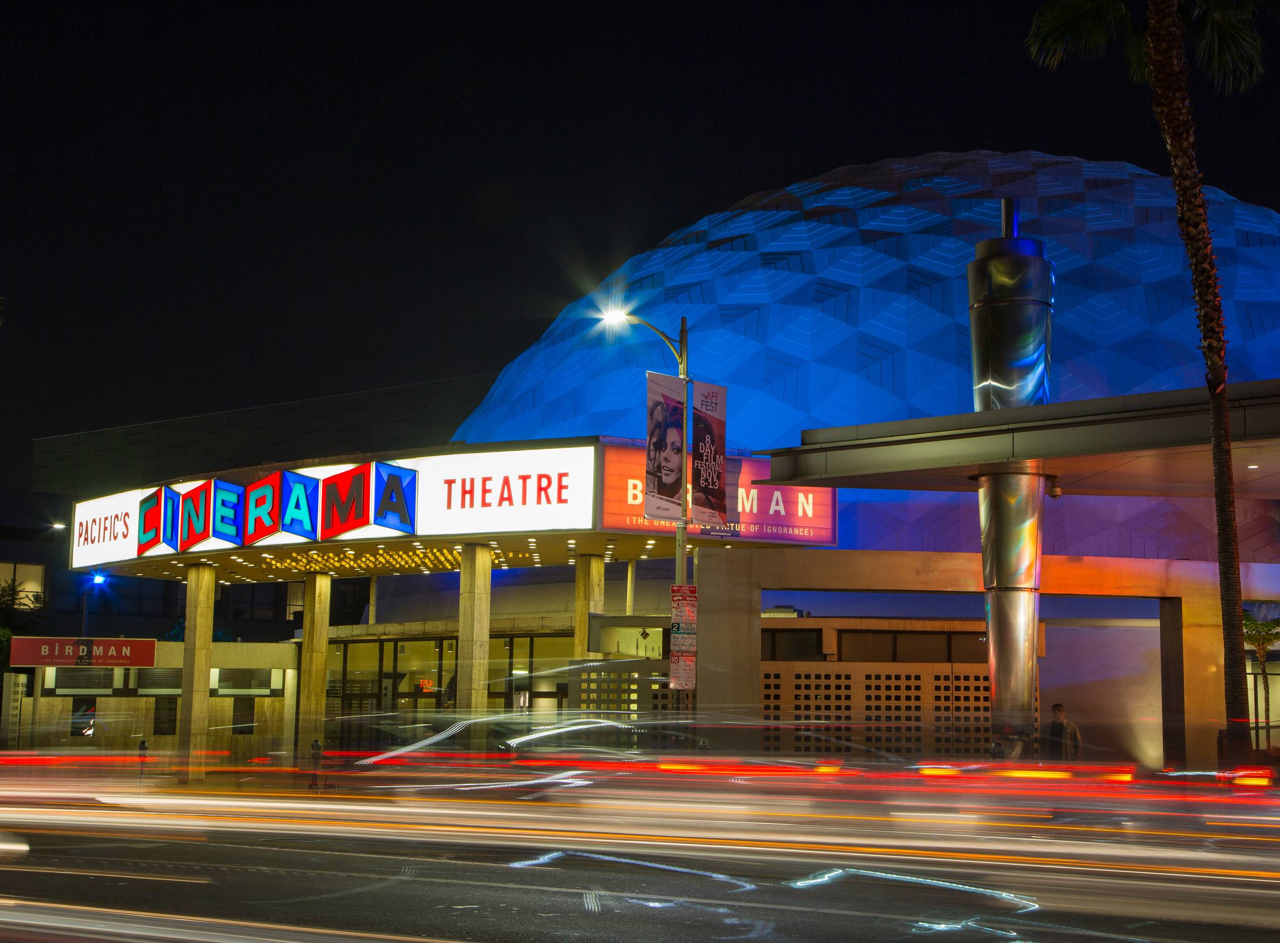The Arclight Hollywood is a massive movie theater that includes the Cinerama Dome. It's hosted oodles of Hollywood film premieres and is a great place to soak up Oscars vibes.