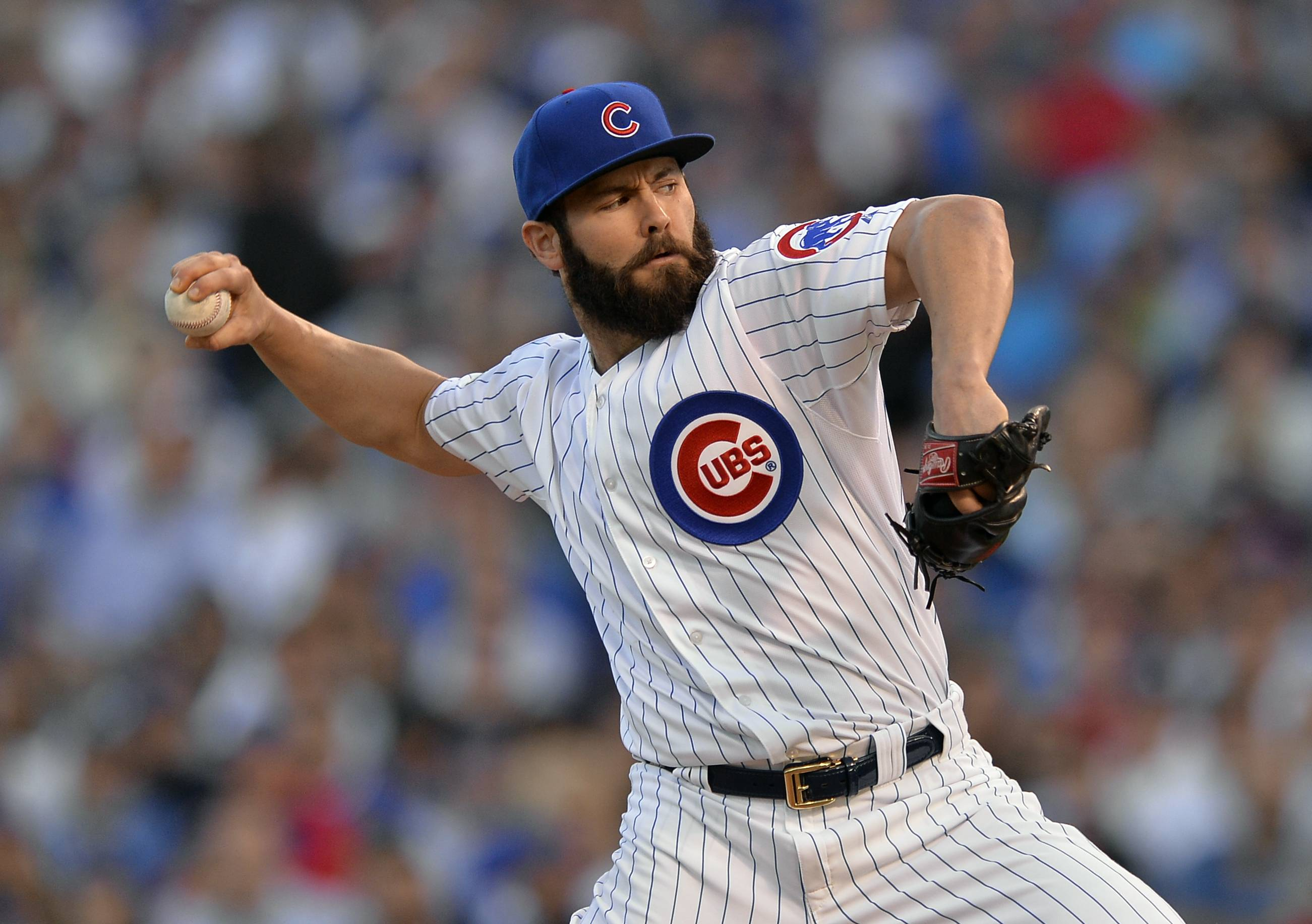 Cubs starting pitcher Jake Arrieta has agreed to a $10.7 million, one-year contract, avoiding arbitration with the highest one-year deal for a pitcher with four years of major league service.