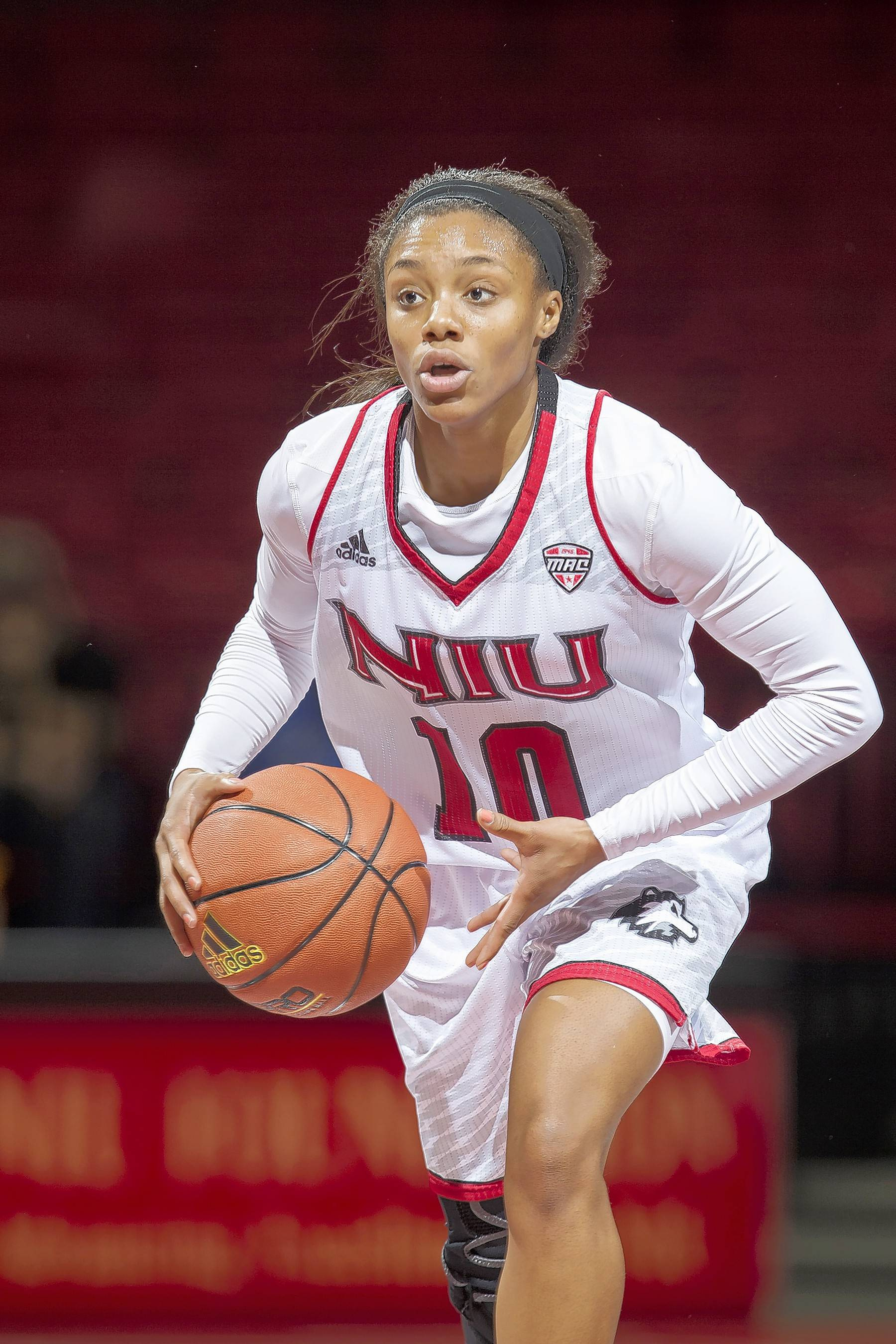 After coming back from knee surgery, Northern Illinois guard Shavonne Brewer's basketball career ended with major foot surgery in December. She's hopeful it will allow her to pursue a career in law enforcement.