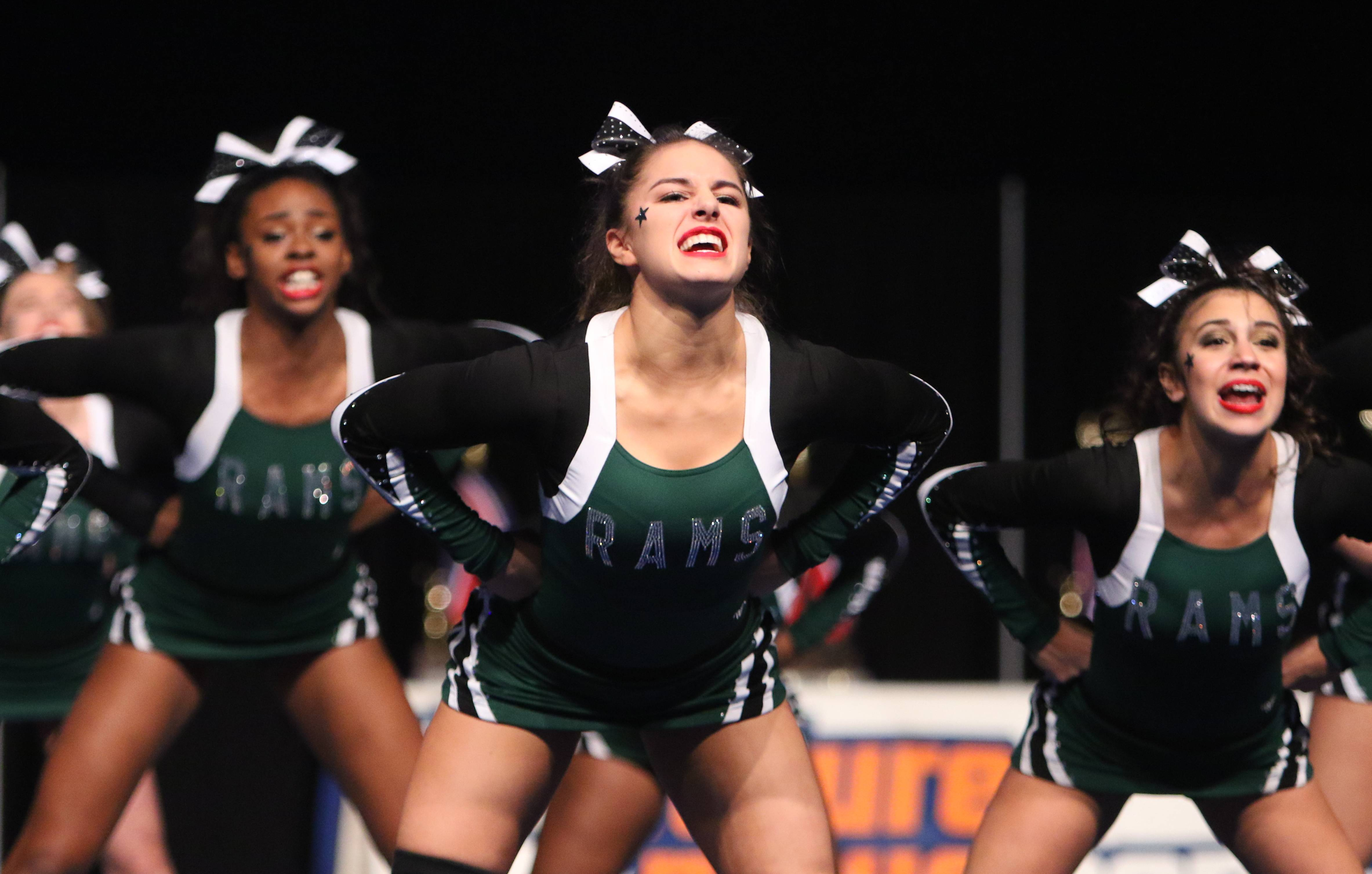 Images: Competitive Cheerleading finals, Buffalo Grove takes top honors