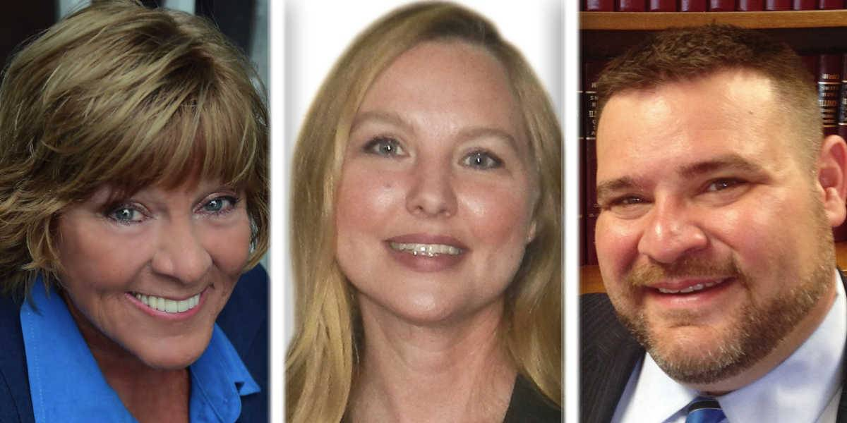 From left, Judy Martini, Denise Rotheimer and David Zipp are Republican candidates for the District 5 seat on the Lake County Board.