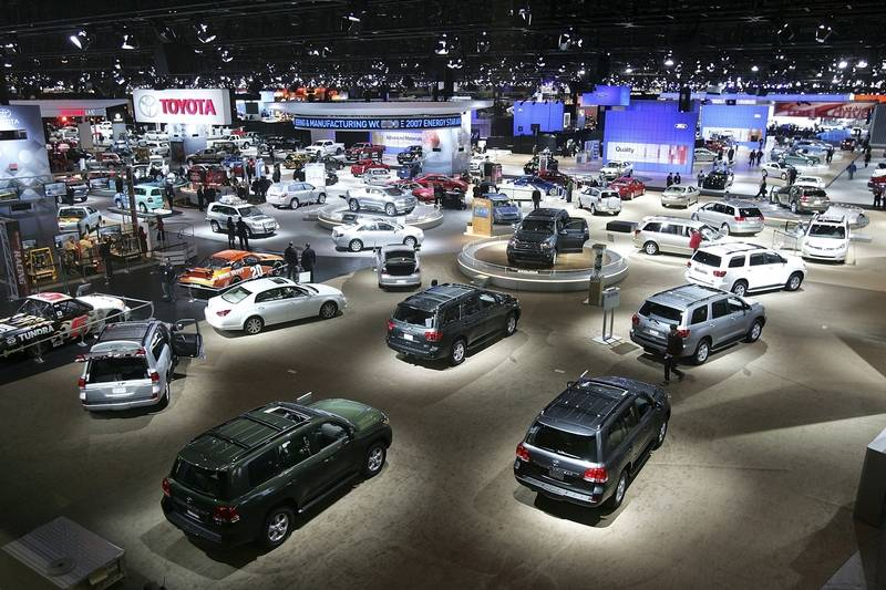 When Is The Chicago Auto Show >> Pyke Hot Cars Cheap Gas High Energy At Chicago Auto Show