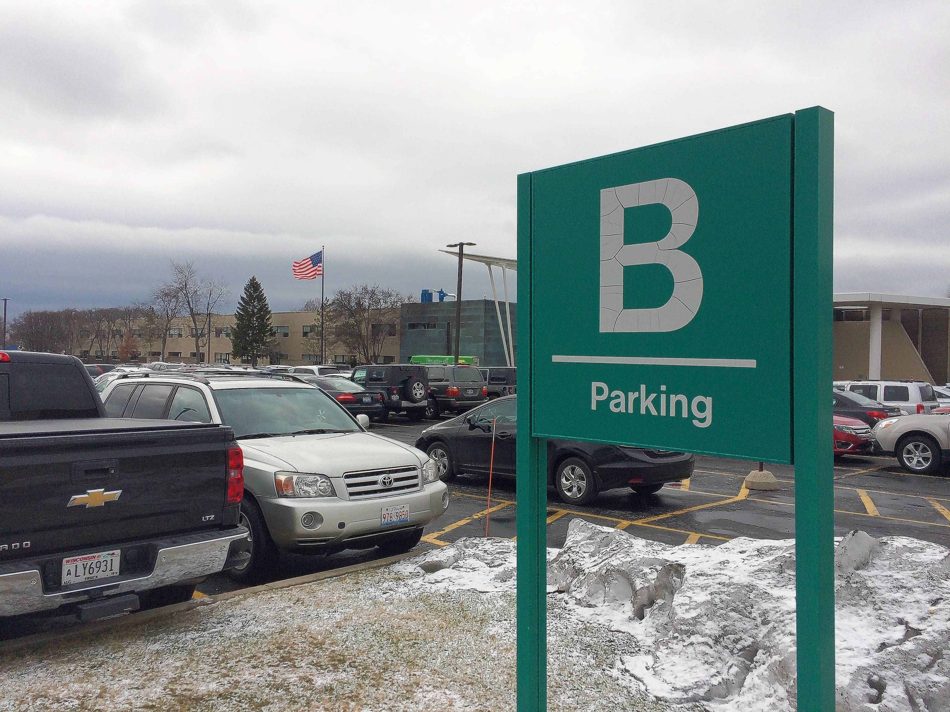 By Russell Lissau/rlissau@dailyherald.com Stevenson High School's B parking lot will be repaved as part of a $5.1 million construction package scheduled for this summer.