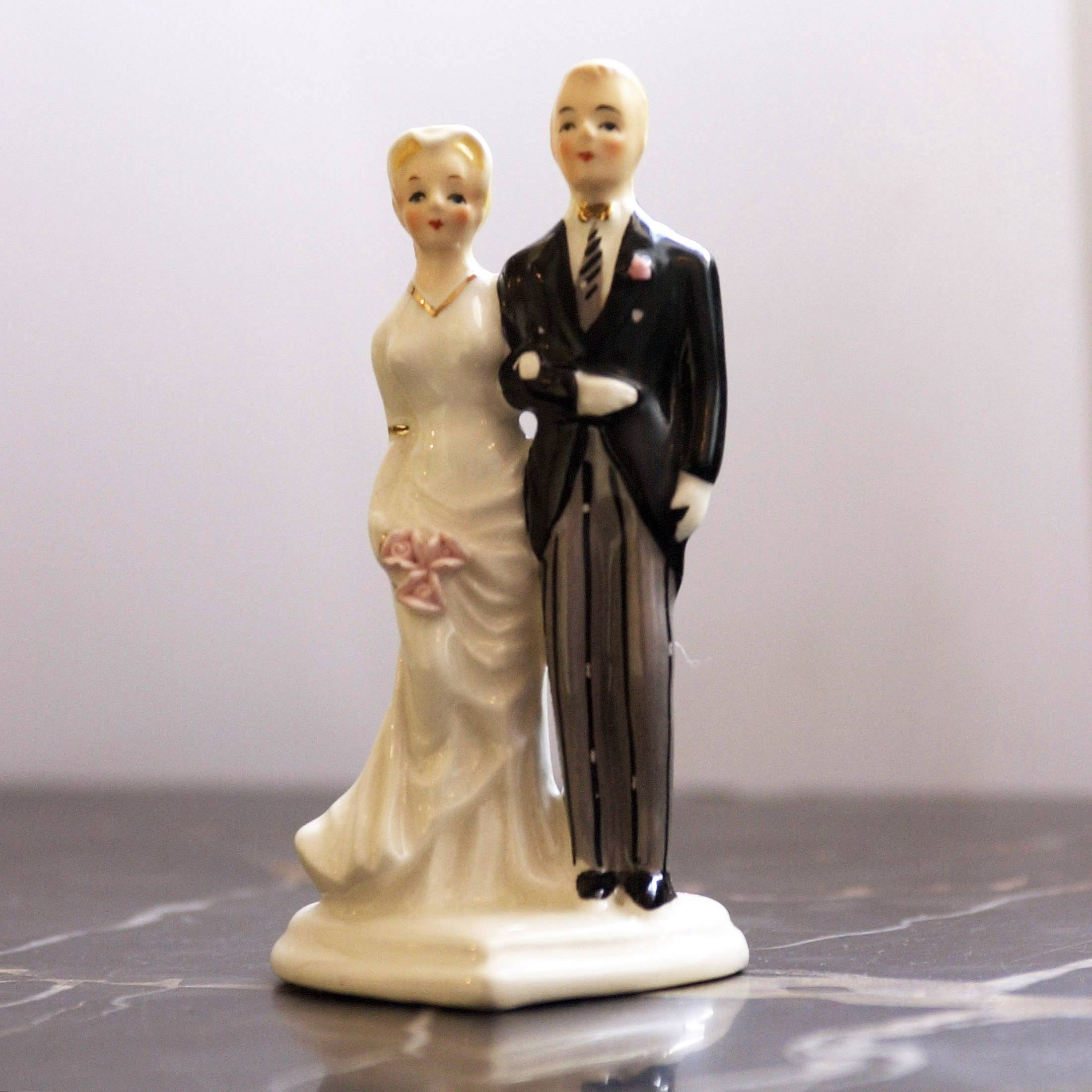 This bride-and-groom topper adorned a wedding cake from a generation ago. But not as many of those marriages are going the distance. For the first time among people older than 50, marriages ending in divorce outnumber those parted by death.