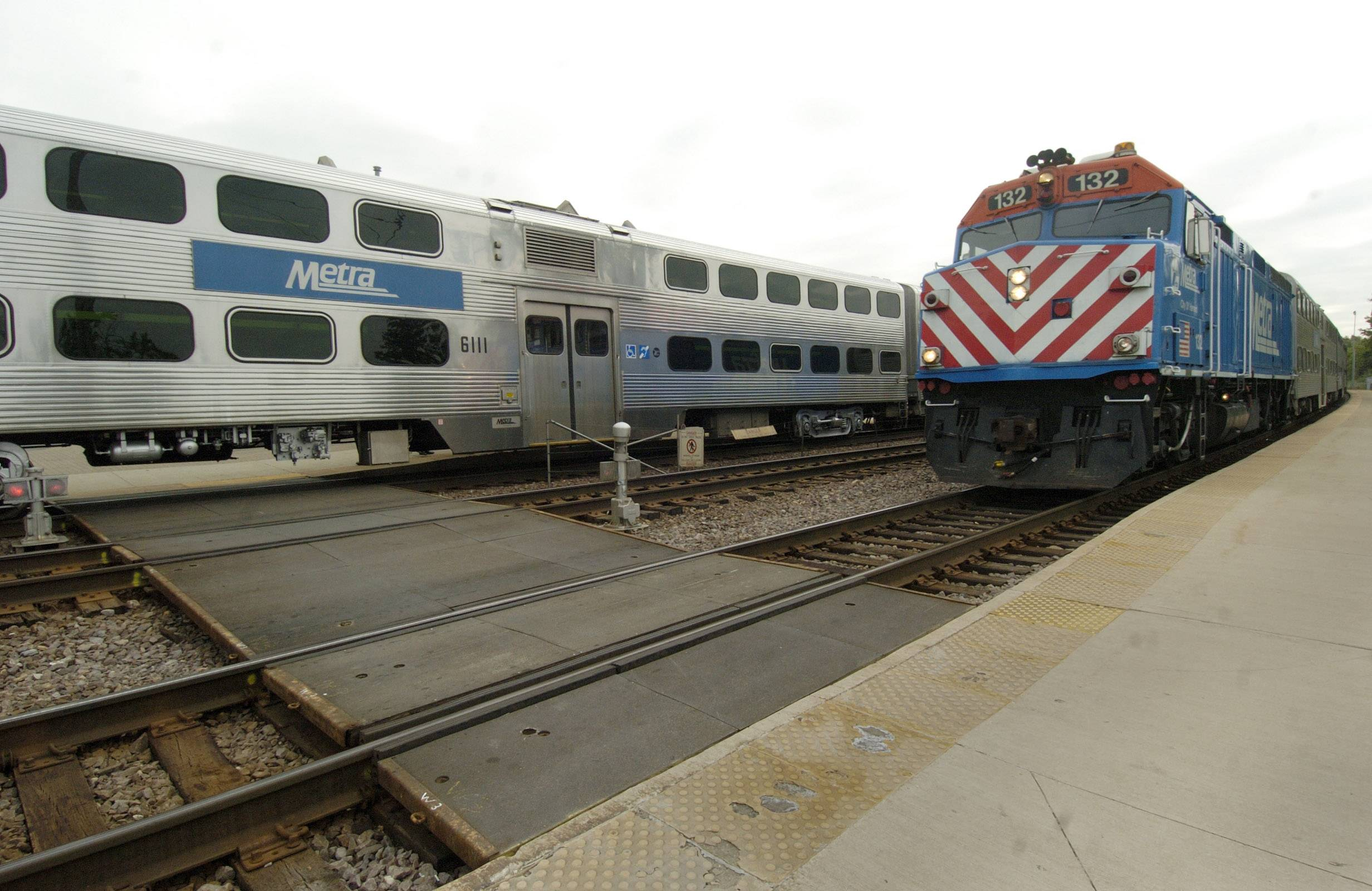 Two Metra's UP West Line trains canceled for Thursday
