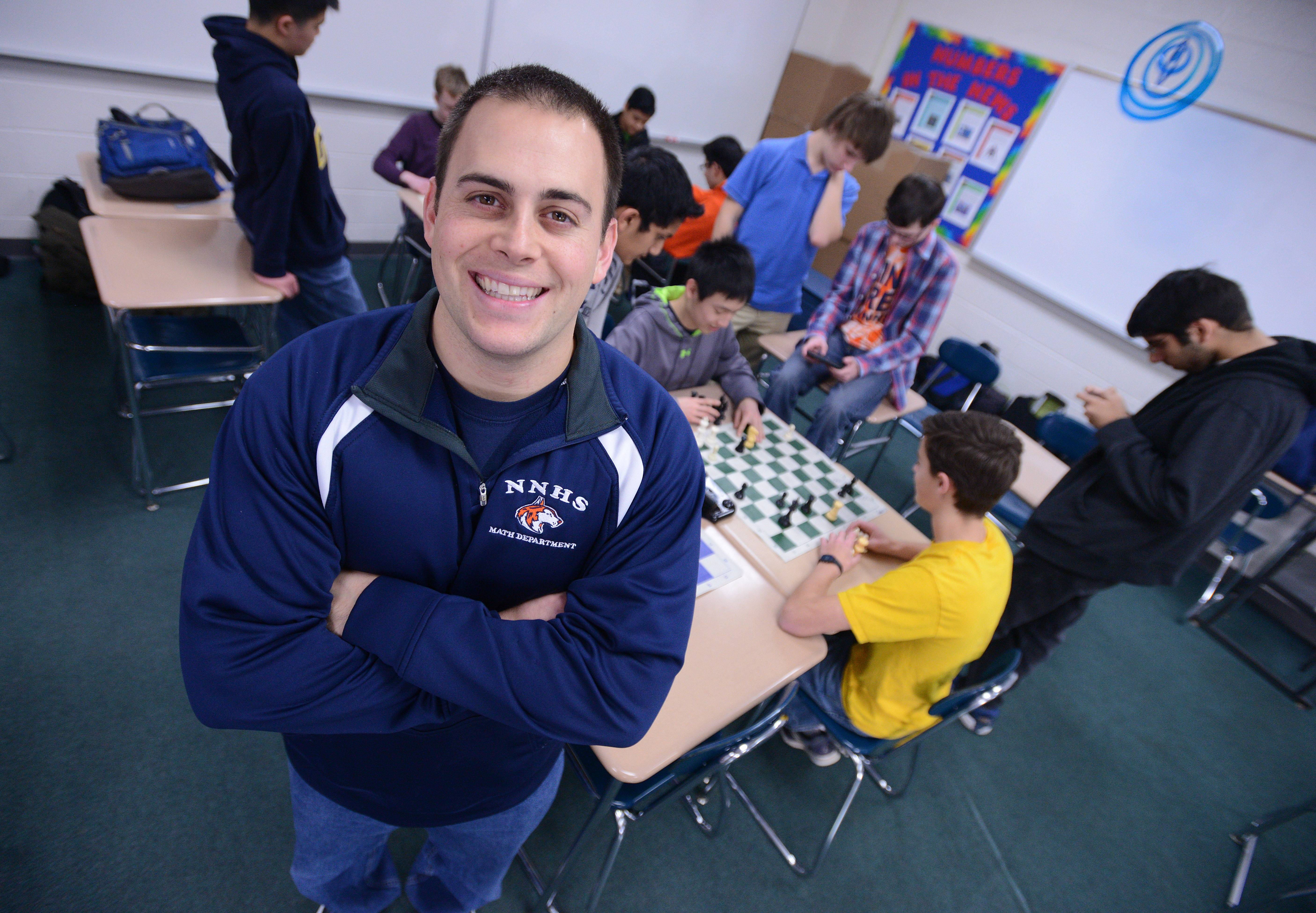 Jeff DiOrio and his 10-member Naperville North chess team have one final practice before heading to Peoria to defend their state crown.