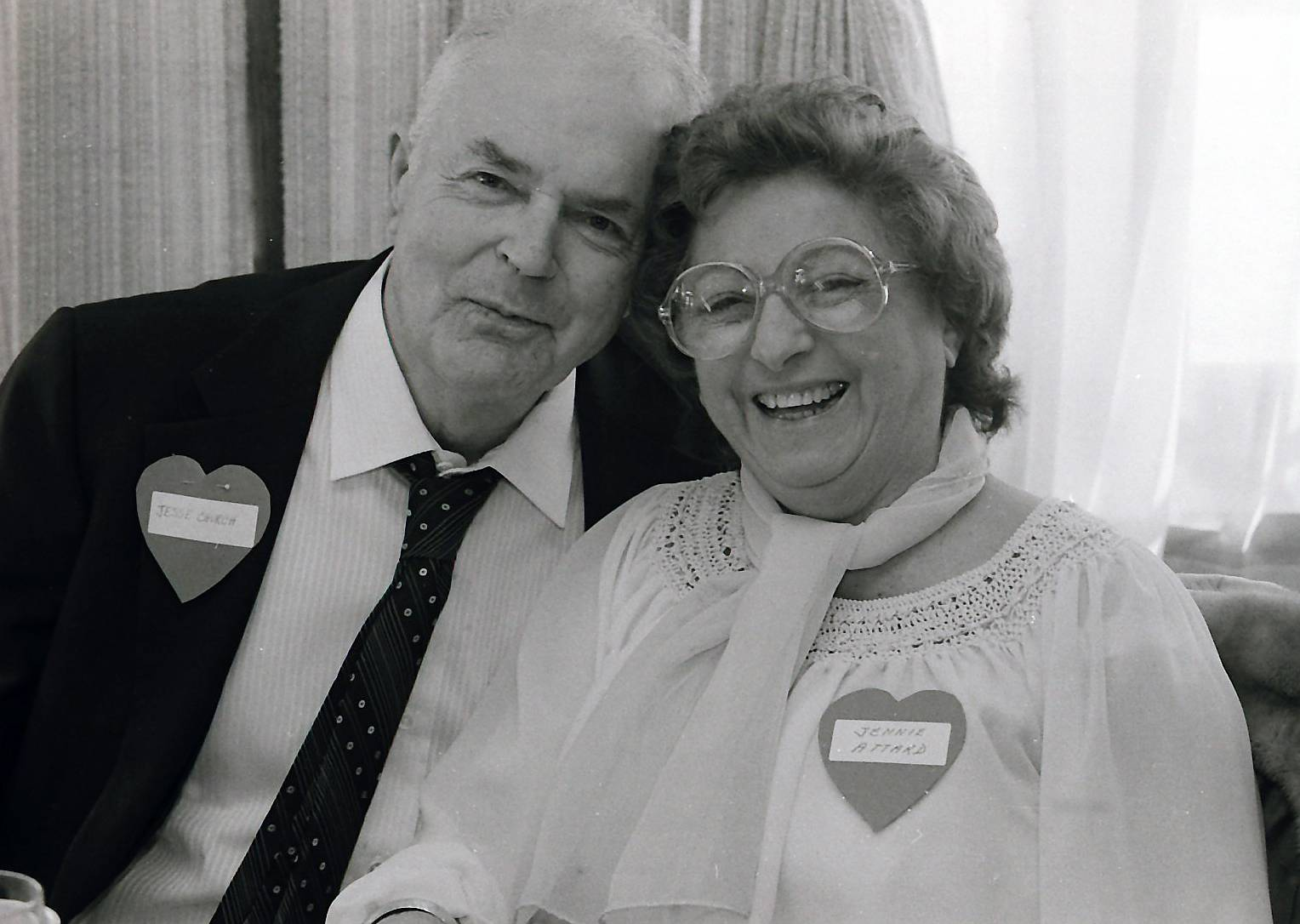 A senior Valentine's Day party in Buffalo Grove in 1985.