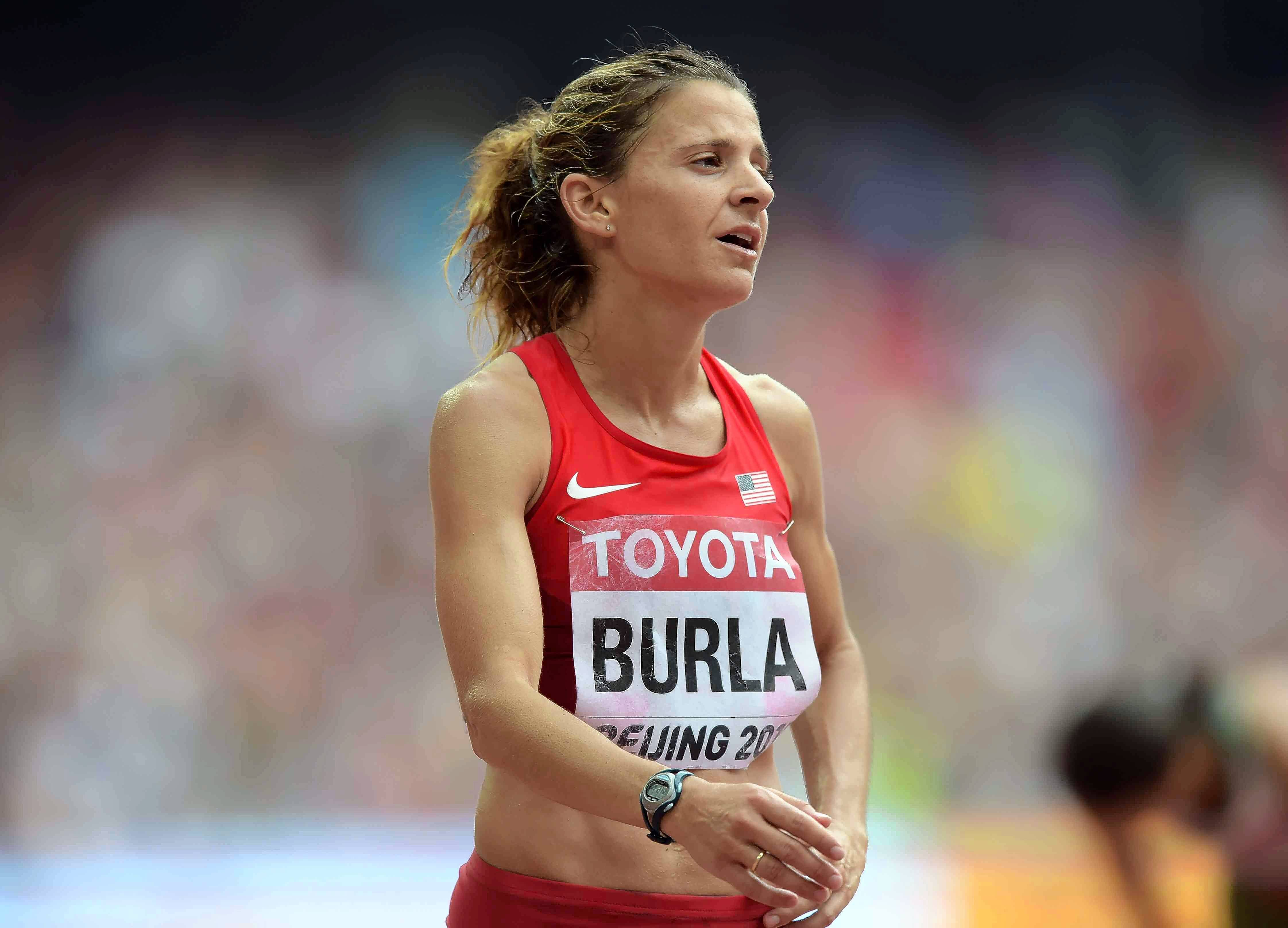 More than five years later after undergoing cancer treatment, Serena Burla is still running and competing at a high level. The 33-year-old Stafford, Va., resident will line up Saturday in Los Angeles for the U.S. Olympic Marathon Trials.