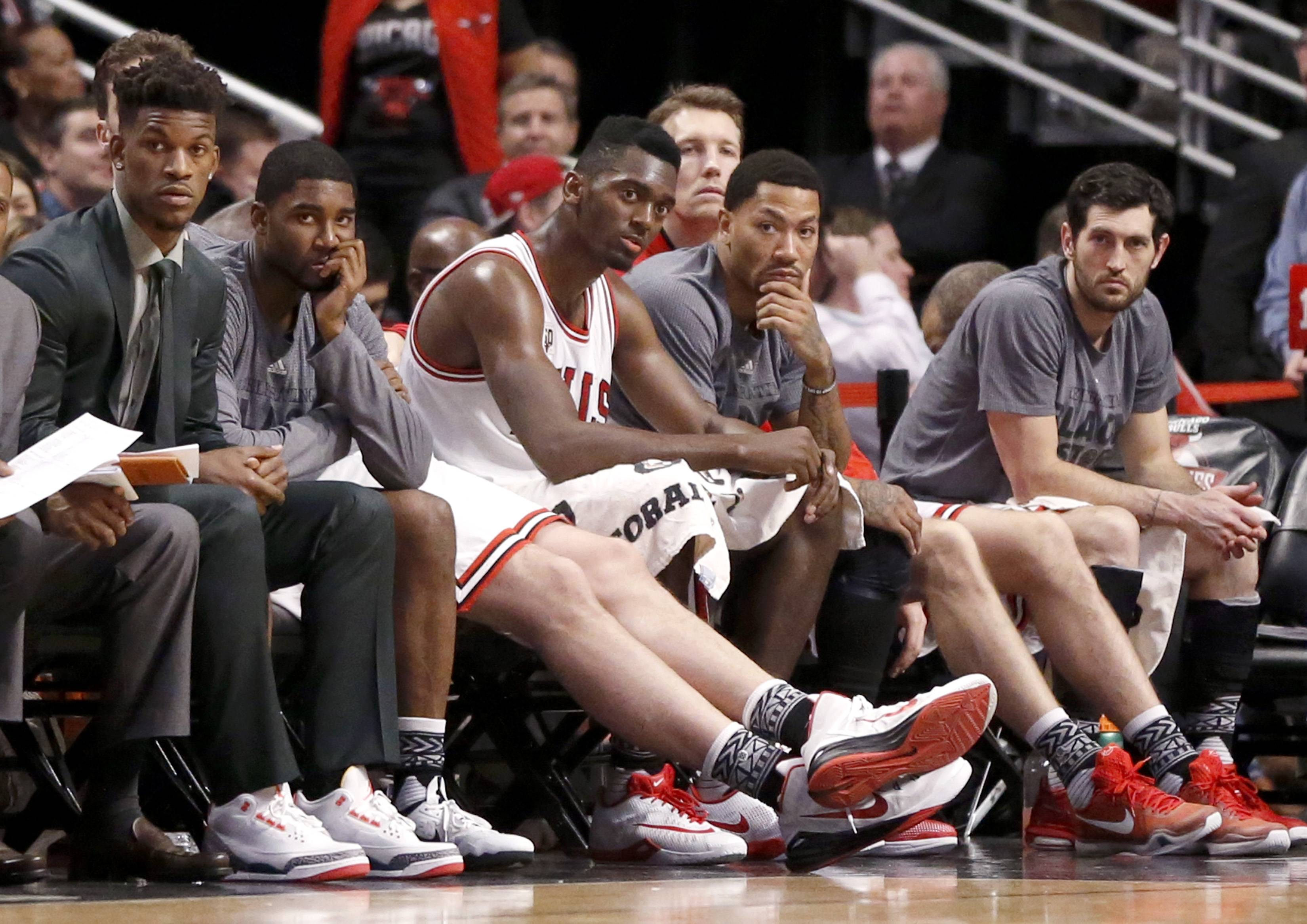 The Chicago Bulls have hit the NBA all-star break in a free fall. A month ago, they seemed to be a likely No. 2 seed in the East. Now they're on the verge of dropping out of the playoff picture. What has gone wrong?