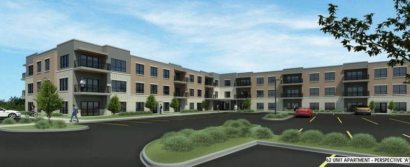 high end apartment complex planned on randall road in elgin