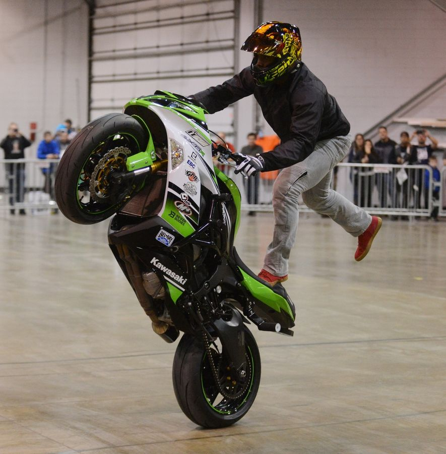 Motorcycle Show Continues Through Sunday In Rosemont