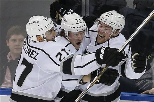 Pearson's overtime goal powers Kings to 5-4 win over Rangers