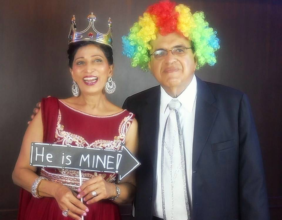 Oak Brook Village President Gopal Lalmalani and his wife, Neetu, have been married for more than 40 years.