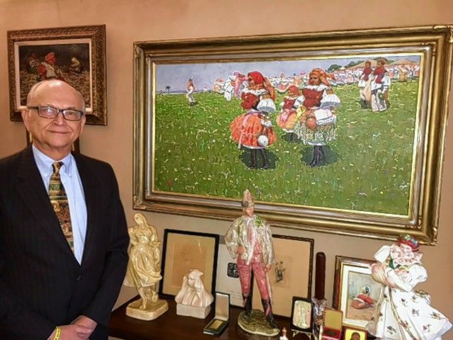 George Drost, an Arlington Heights attorney, is also an avid art collector.