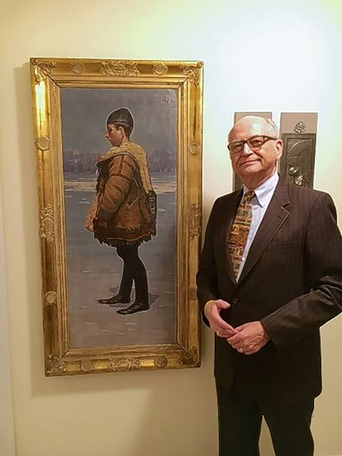 George Drost, an Arlington Heights attorney, has traveled around the world and collected mostly contemporary Czech art.