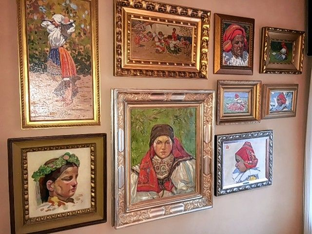 George Drost, an Arlington Heights attorney, is also an avid art collector. Here's a sampling of his collection.