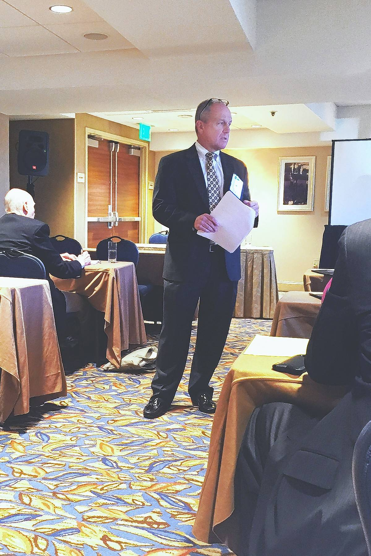 Attorney Kerry Lavelle, who has a practice in Palatine, was invited to speak at an American Bar Association conference.