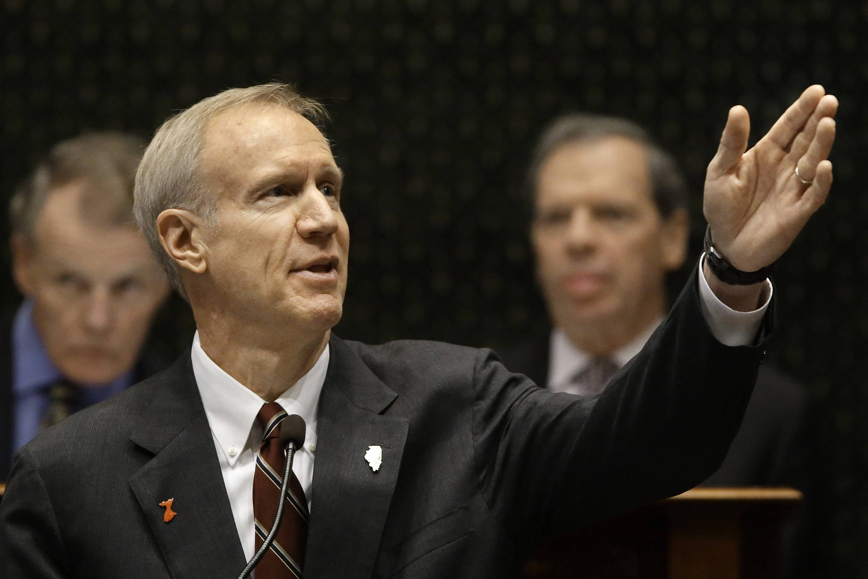 Will Democrats embrace either Rauner budget proposal?