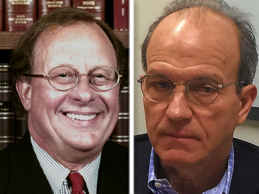 "Frank ""Pony"" Swanton, left, and Thomas Swarthout, right, are Republican candidates for North Shore Water Reclamation District, Ward 4, in the 2016 election."
