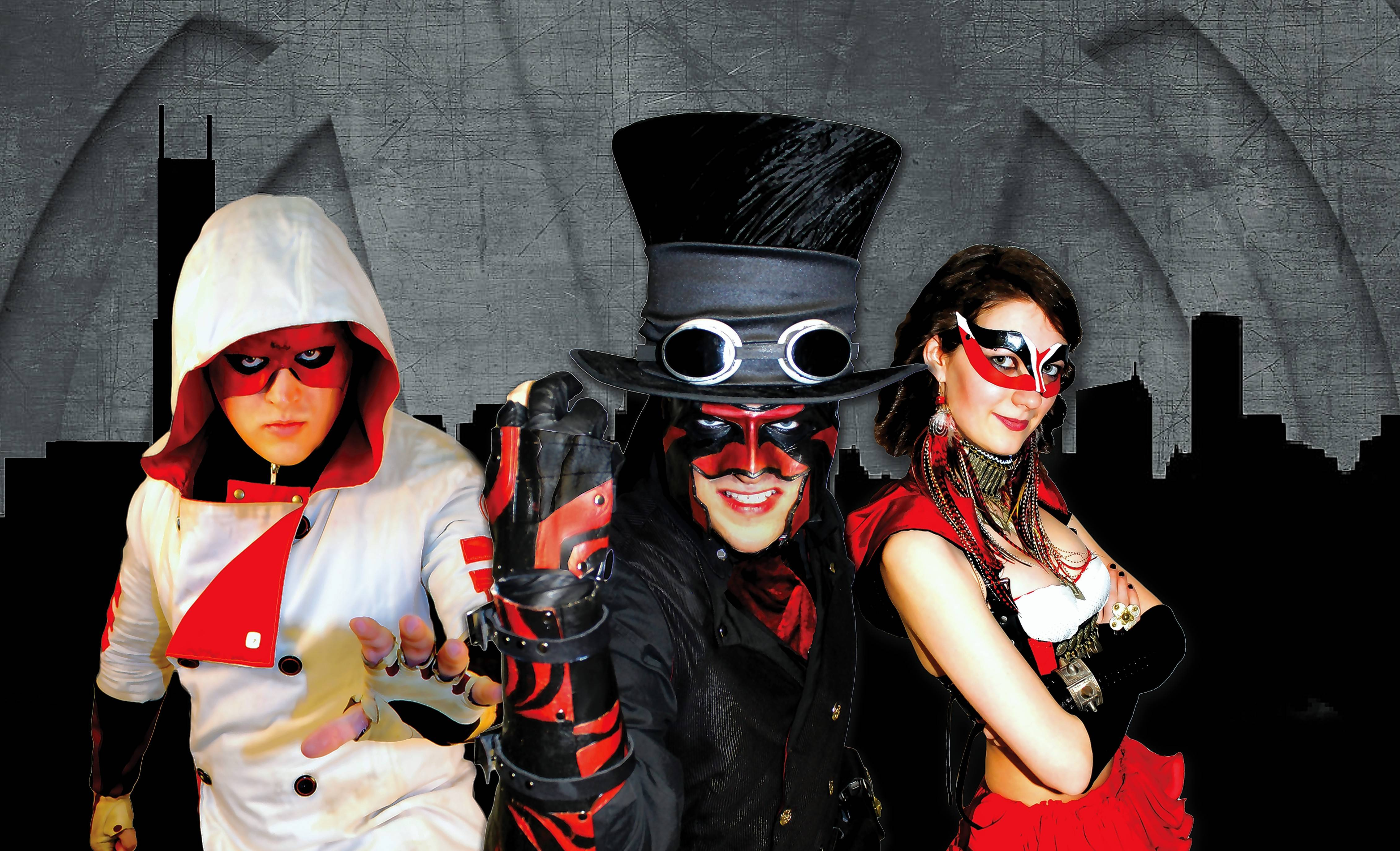 Industrial rock trio V Is For Villains takes over Chicago's Bottom Lounge Friday, Feb. 19.