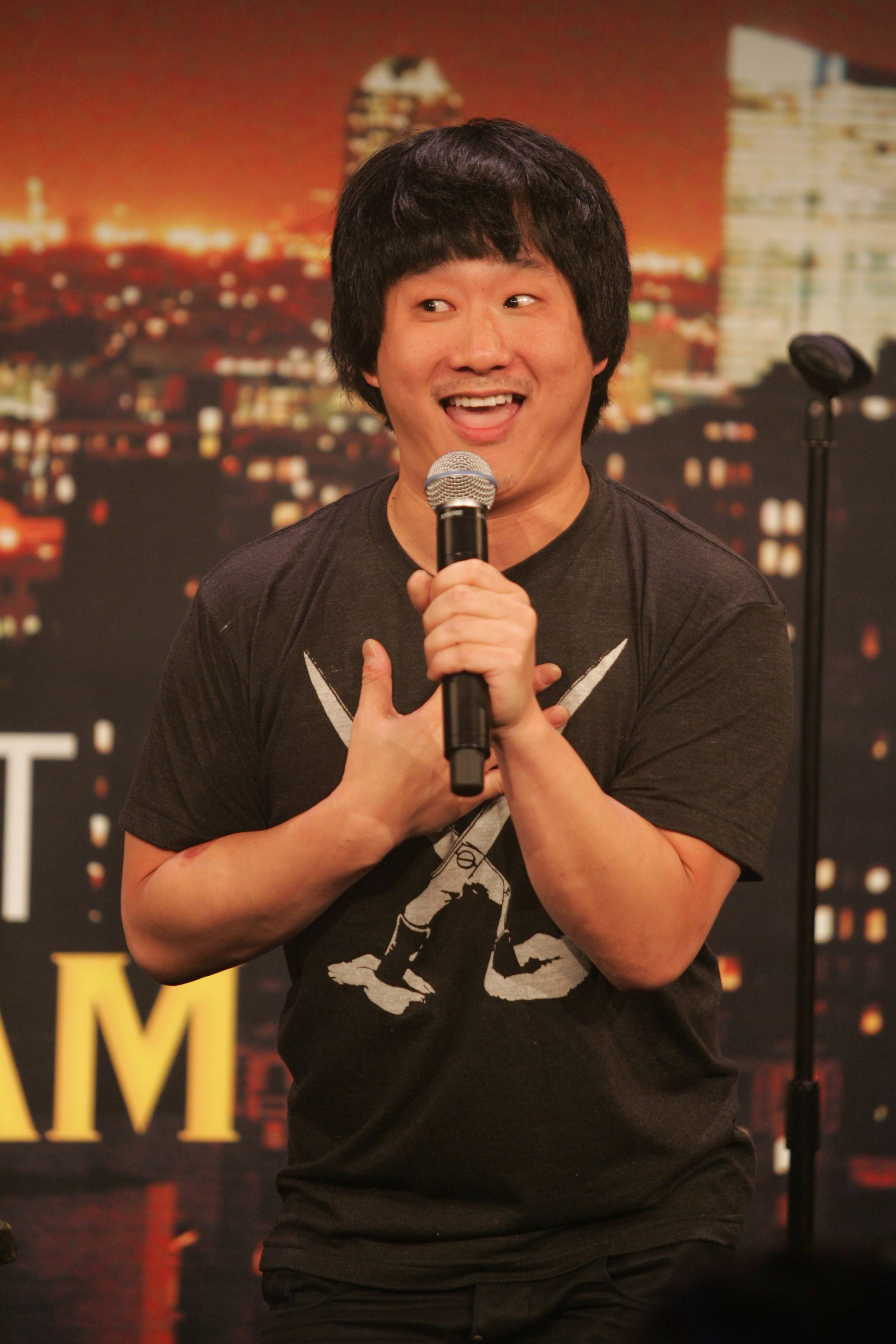 Comedian Bobby Lee performs at the Improv Comedy Showcase in Schaumburg.