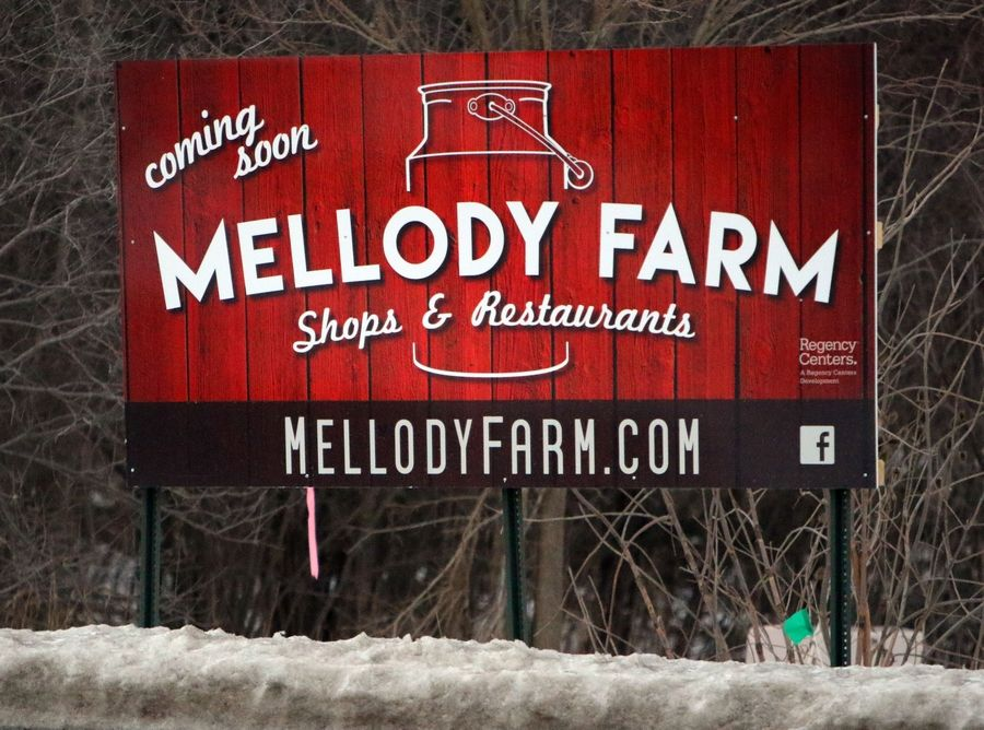 Melody Farm will soon occupy the vacant land on the northeast corner of routes 21 and 60 in Vernon Hills.