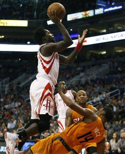 James Harden Leads Rockets Past Free-falling Suns, 116-100
