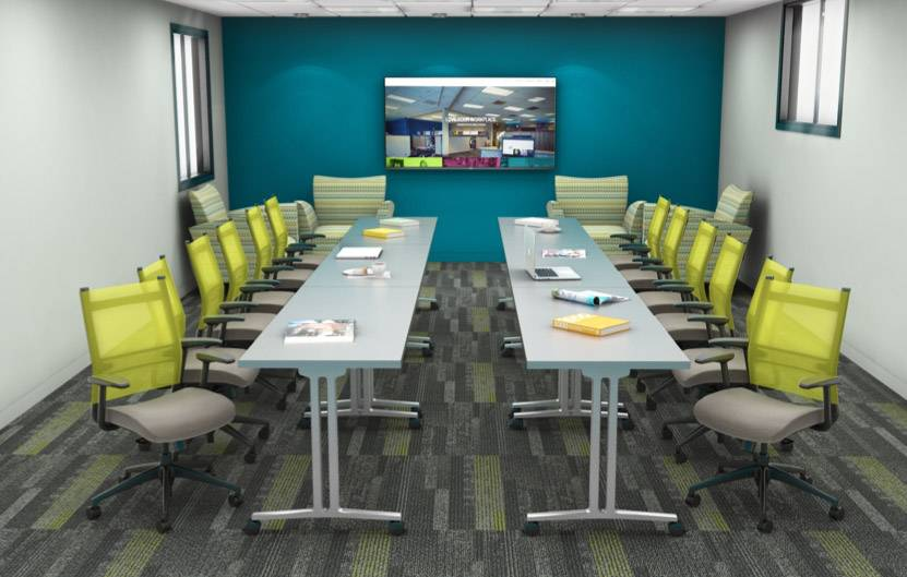 Awesome Courtesy Of Rieke InteriorsRenovated Conference Room Designs By Rieke  Interiors.