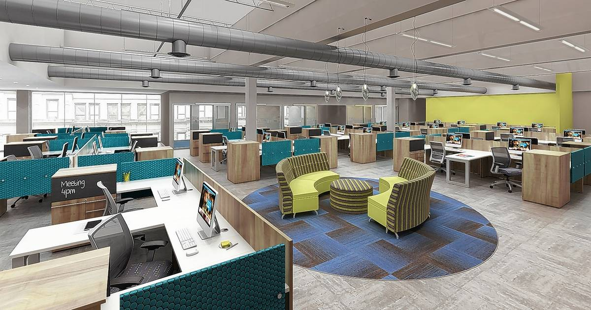 workplace office makeover updated ideas trends