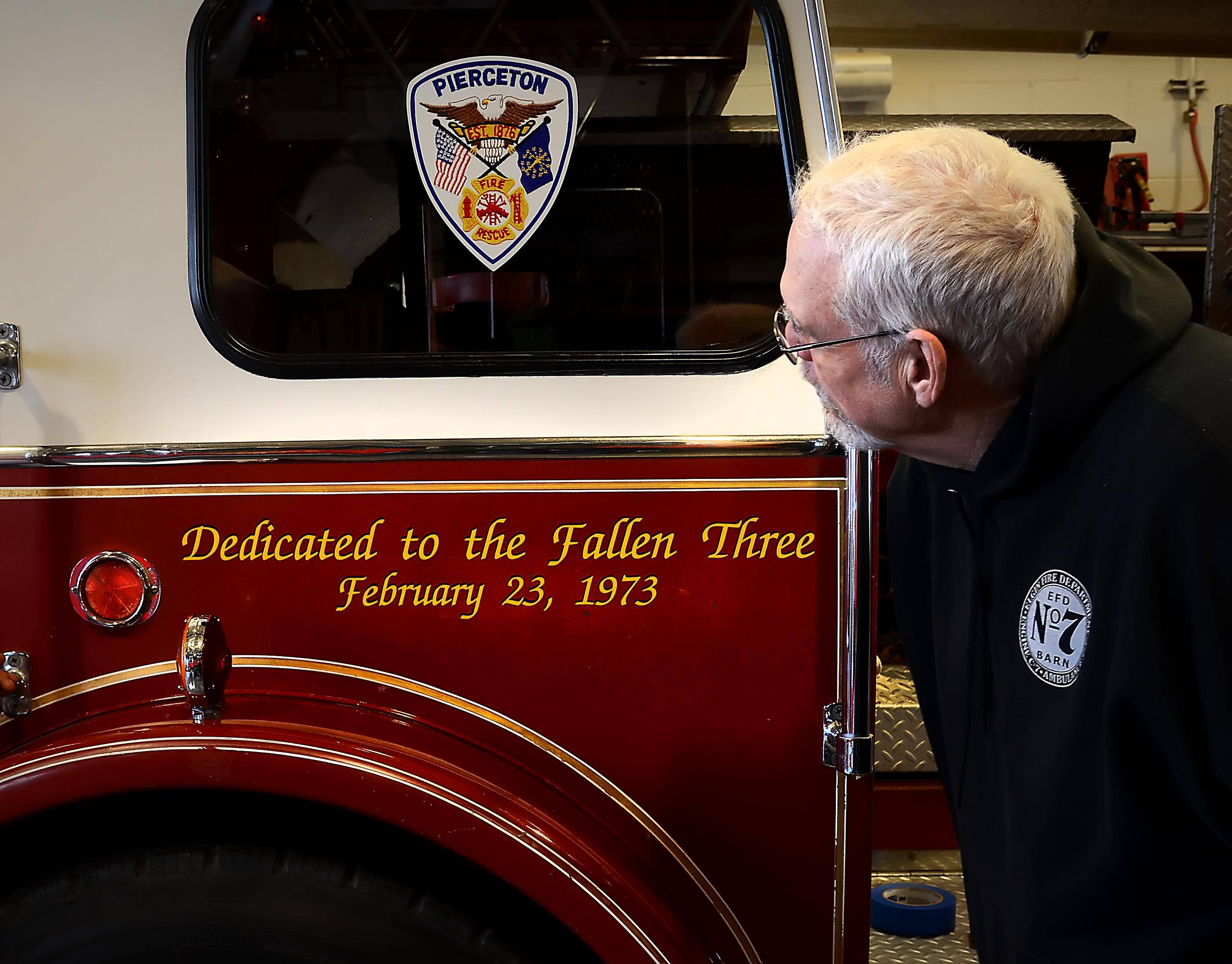 Restored fire truck to return to scene of deadly 1973 Palatine fire